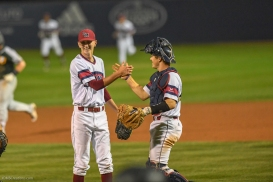 Josh Agnew with Cooper Uhl LMU Baseball vs. San Francisco - Apr. 14, 2018