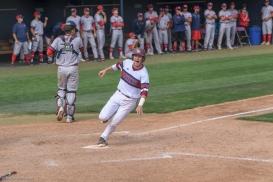 Brandon Shearer scores game winning run. LMU baseball vs. Saint Mary's - May 20, 2018